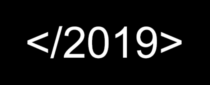 End of 2019